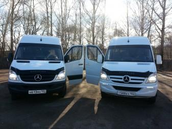 Микроавтобусы Mercedes, Пежо, Форд